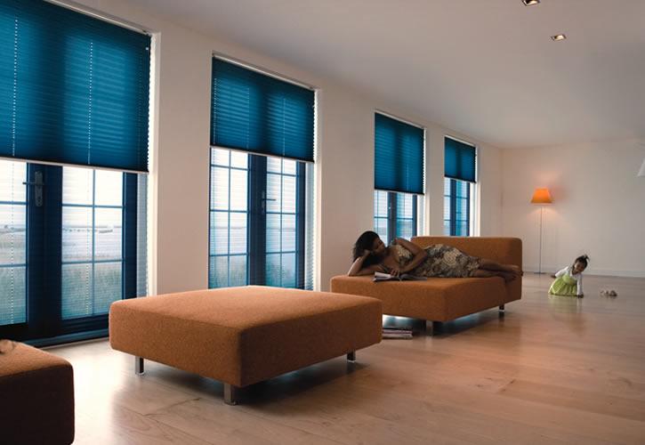 Decoratie raamdecoratie sunway : ... ,Sunway plissu00e9,s de nieuwste plissee gordijn collectie in Amsterdam